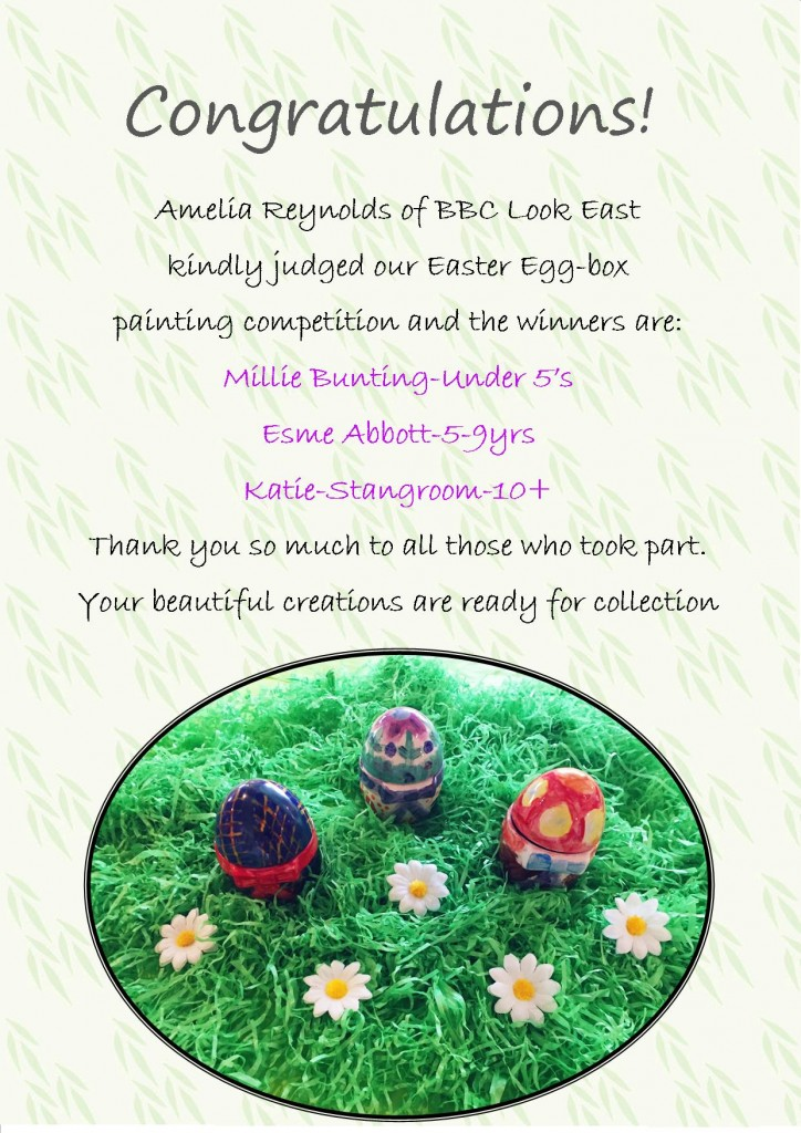 Easter Egg Painting Winners - Website