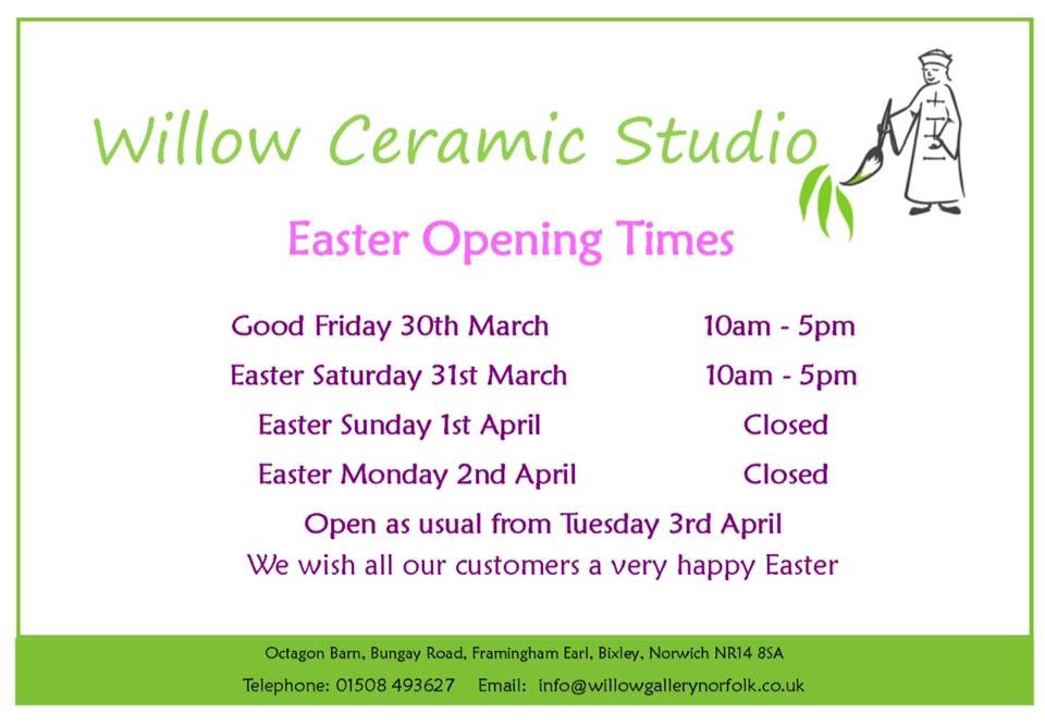 Easter OPening Notice